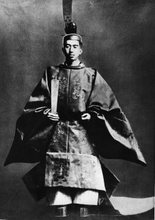 Emperor Hirohito at His Enthronement