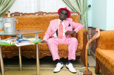 A Brazzaville Sapeur, the dandies of the Congo