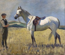 Grey-horse-Munnings